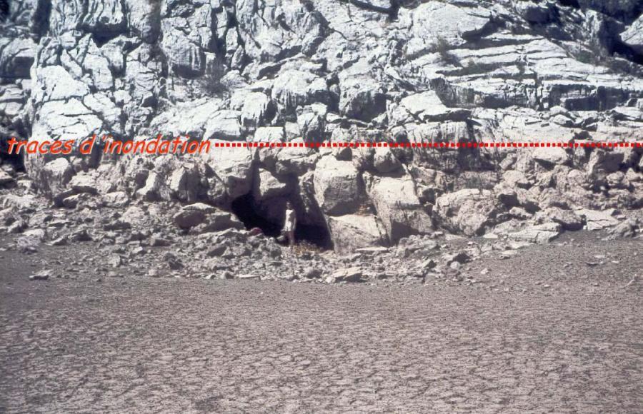 Perte dans un poljé du Taurus (Turquie)