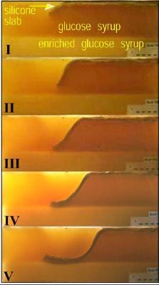 Modélisation analogique d'une subduction sans convergence