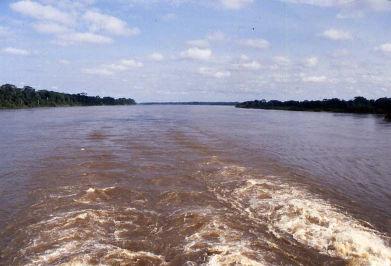 Le Congo à son embouchure.
