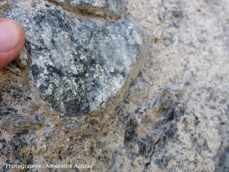 Mélange talc - chlorite (- serpentine ?)