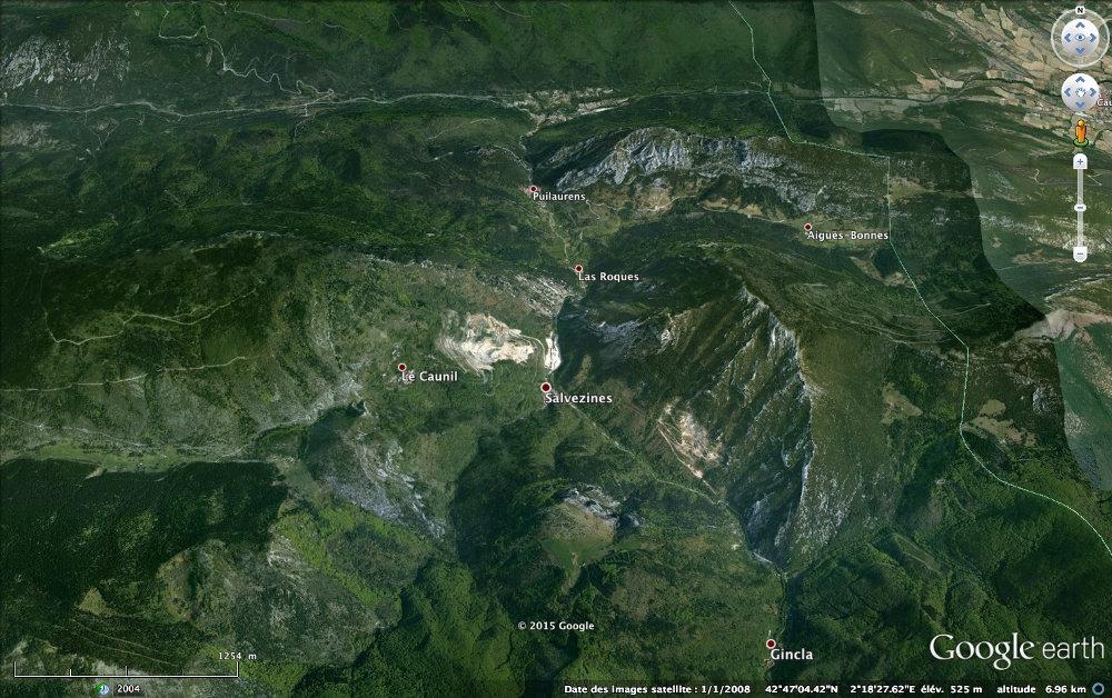 Carrière d'albitites du massif de Salvezines