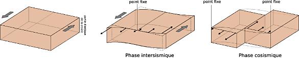 Un modèle conceptuel pour expliquer le rebond élastique au cours d'un séisme en décrochement