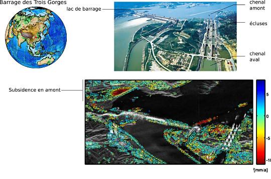 Impact de la construction du barrage des Trois Gorges (fleuve Yangtze, Chine)