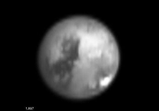 Titan vu à la longueur d'onde de 1,997µm