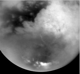 Image IR prise pendant l'approche, le 25 octobre 2004