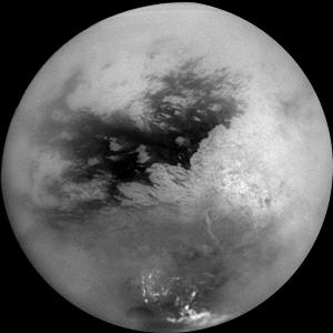 Image de Titan centrée sur 15° lat. S et 156° long. O