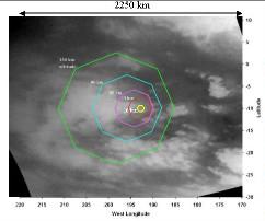 Image de la surface de Titan prise d'orbite