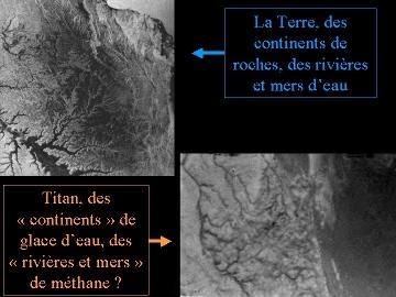 Comparaison entre les vallées de Titan et les vallées terrestres