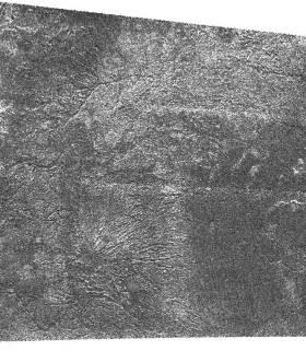Un réseau de drainage sur Titan