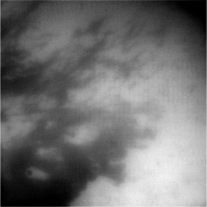 Zone détaillée de la surface de Titan