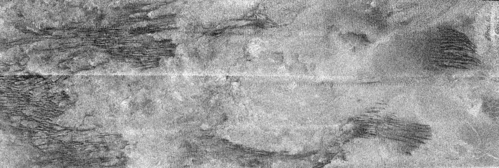 """""""Griffures de chats"""" sur Titan"""