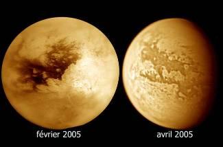 Les deux secteurs actuellement connus de Titan