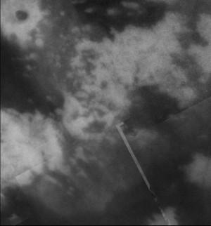 Imbrication complexe de terrains clairs et sombres sur Titan