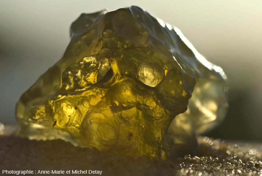 Échantillons de verre libyque (175g)