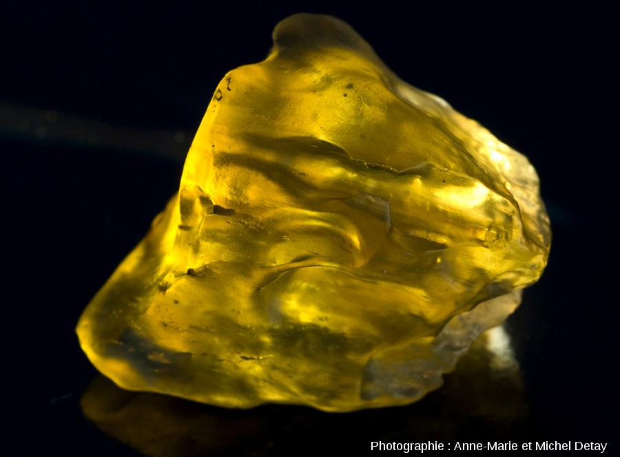 Échantillons de verre libyque (~150g)