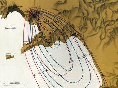 Épaisseur des dépôts Pliniens, en centimètres