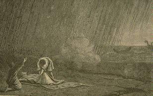 La mort de Pline
