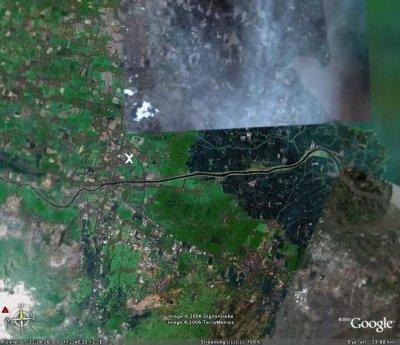 Sidoarjo, partie Est de l'île de Java