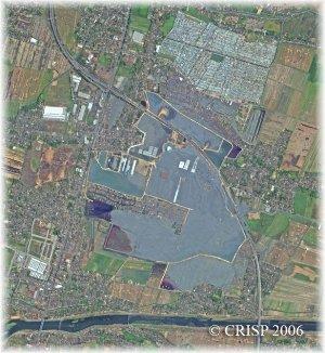 Situation le 29 août 2006, après 3 mois de flots de boue