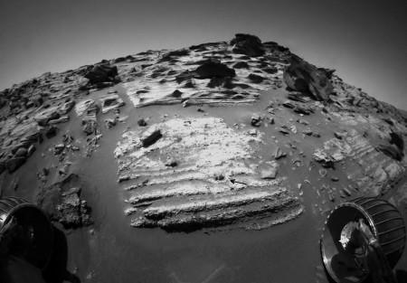 Traces de volcanisme explosif sur Mars