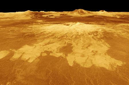 Sapas Mons, un volcan sur Vénus