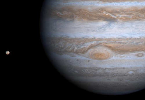 Io et Jupiter