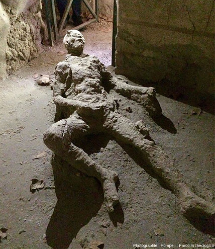 Une image inhabituelle des conséquences de l'éruption du Vésuve en l'an 79 de notre ère