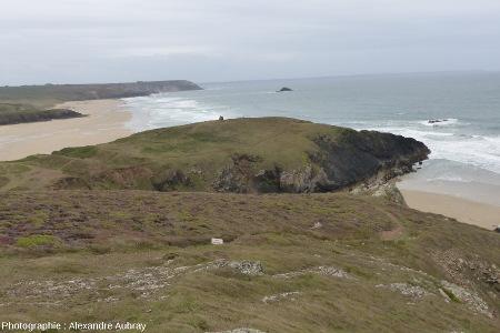 La pointe de Lostmarc'h vue vers le Sud