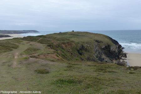 La pointe de Lostmarc'h vue vers le Sud – Ouest
