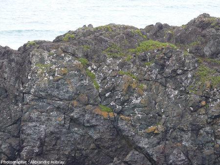 Zoom sur l'extrémité occidentale de la partie Sud de l'éperon Nord de la pointe de Lostmarc'h