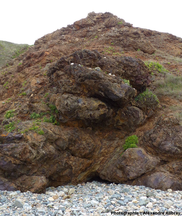Gisement de fer de la plage de la Palue